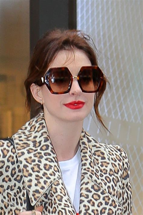 ANNE HATHAWAY Out and About in New York 04/28/2019 ...
