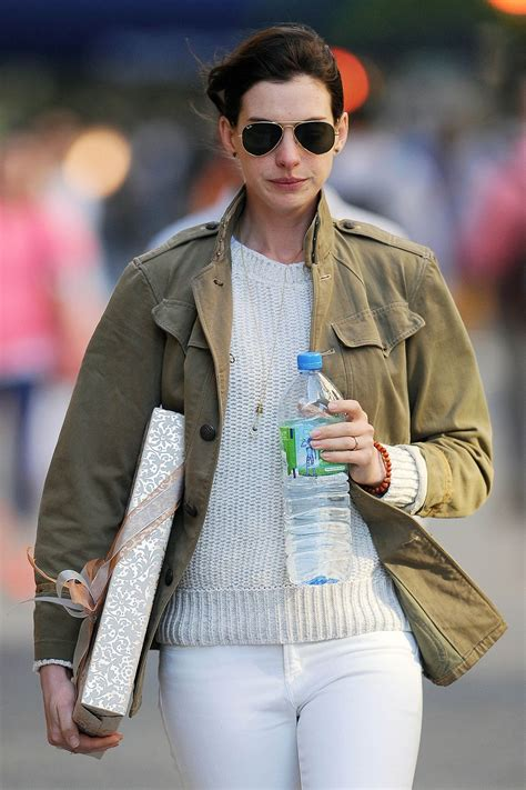 Anne Hathaway   Out in New York City, May 2015