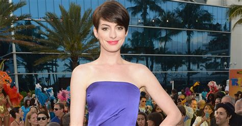 Anne Hathaway Shares Stars  Yearbook Photos on Instagram ...