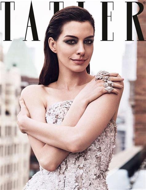 Anne Hathaway   Tatler Magazine June 2019