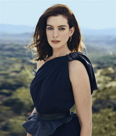 Anne Hathaway   Town & Country February 2019