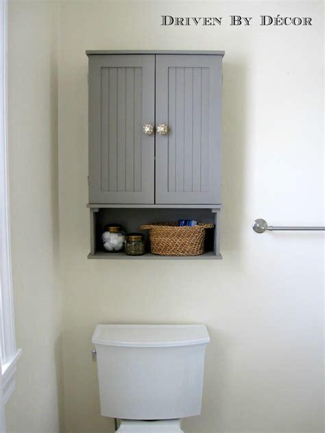 Annie Sloan Chalk Paint Bathroom Cabinet Makeover | Driven ...
