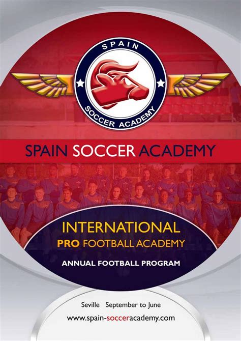 Annual Football Program for Players. Spain Soccer Academy ...