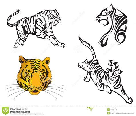 Año Del Zodiaco Del Tigre Fotografía de archivo   Imagen ...