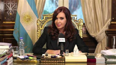 Año Nuevo Chino. Saludo de la Presidenta Cristina ...