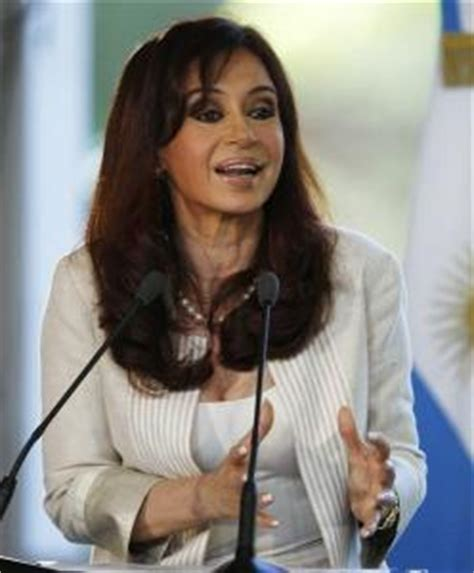 Another shock announcement from Argentina's leader