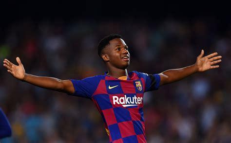 Ansu Fati, así juega la nueva perla del Barça criada en La ...