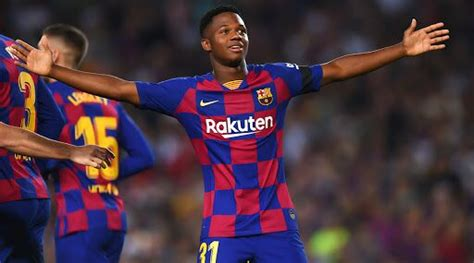 Ansu Fati Becomes Youngest Goal Scorer in Champions League ...