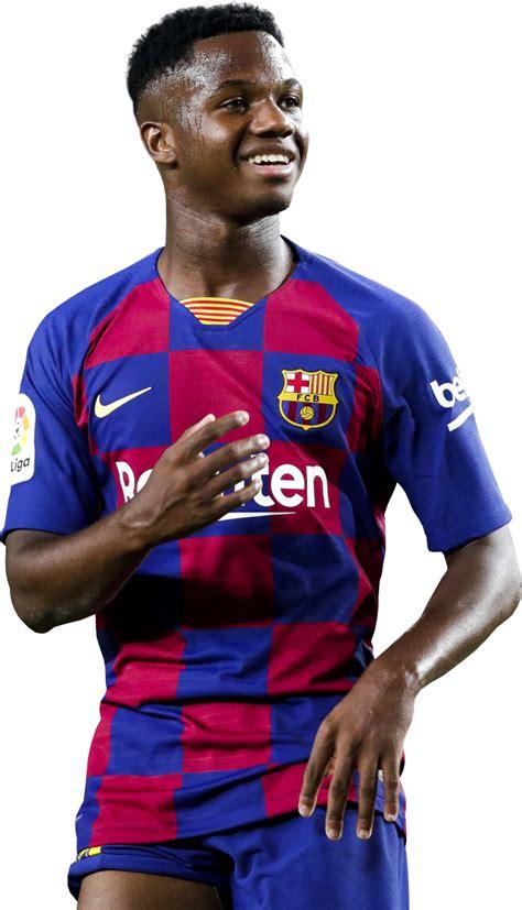 Ansu Fati football render   58657   FootyRenders