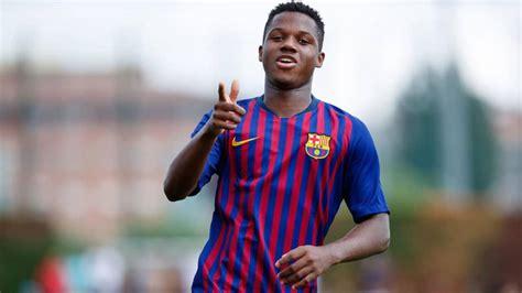 Ansu Fati, la sensación de 16 años del Barcelona, ya es ...