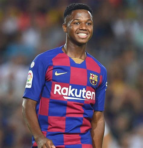 Ansu Fati se convierte en el goleador más joven de la ...