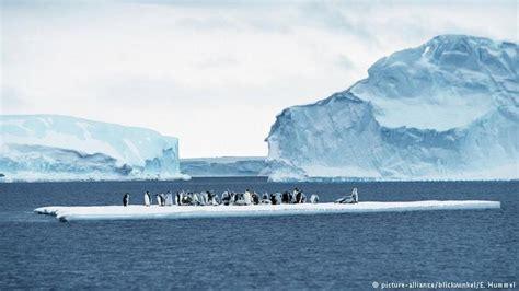 Antarctic Ice is Melting