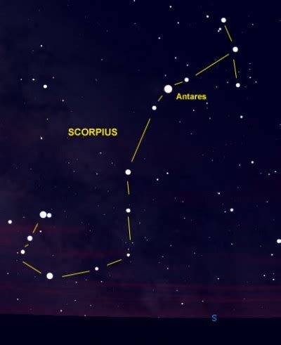 Antares is Heart of the Scorpion | Brightest Stars | EarthSky