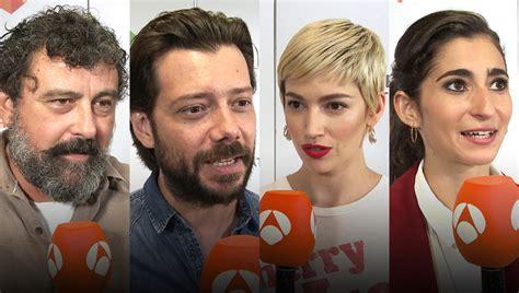 ANTENA 3 TV | Los protagonistas de  La casa de papel  se ...