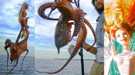 Anteprima mondiale: come pescare i polpi con una BARBIE ...