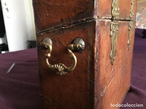 antigua caja para guardar documentos en piel   Comprar ...