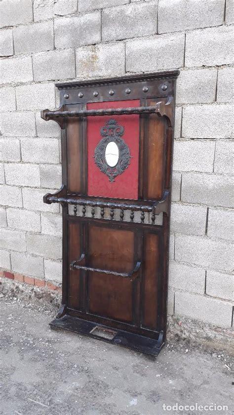 antiguo mueble de entrada perchero paragüero. r   Comprar ...