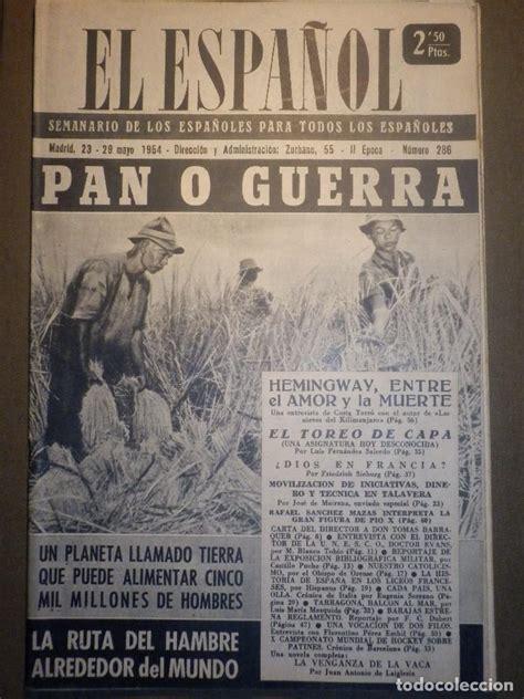 antiguo periodico   el español   con reportaje   Comprar ...