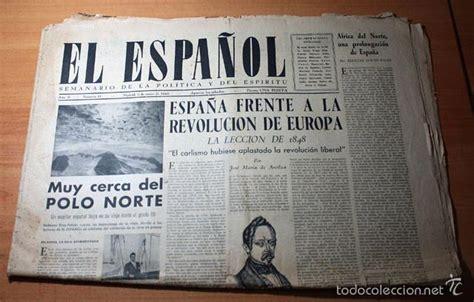 antiguo periodico el español, semanario de la p   Comprar ...