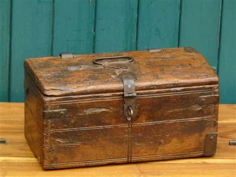 Antique Money Box s545   Scaramanga Leather Satchels ...