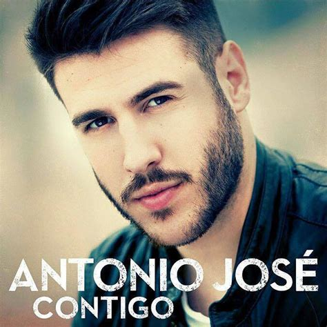 Antonio José: Contigo, la portada de la canción