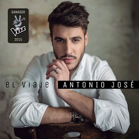 Antonio José: El viaje, la portada del disco