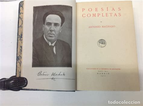 Antonio machado poesias completas 1917 1ª edic   Vendido ...