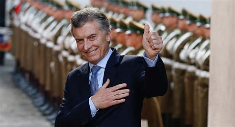 Anuncian la visita del presidente argentino Mauricio Macri ...