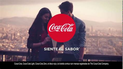 Anuncio Coca Cola Siente el sabor Advertisement Coca Cola ...