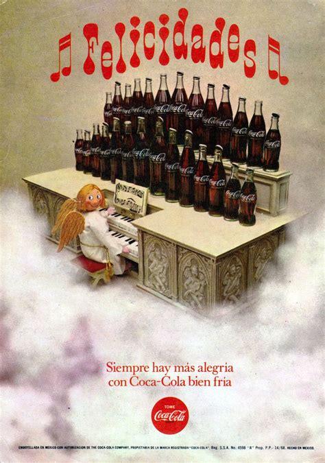 Anuncios de México: Refresco Coca Cola  Diciembre 1969