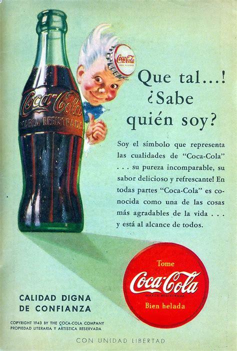 Anuncios de México: Refresco Coca Cola  Mayo 1943