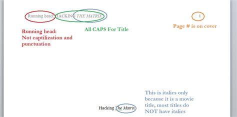 APA | APA Tips | Page 2