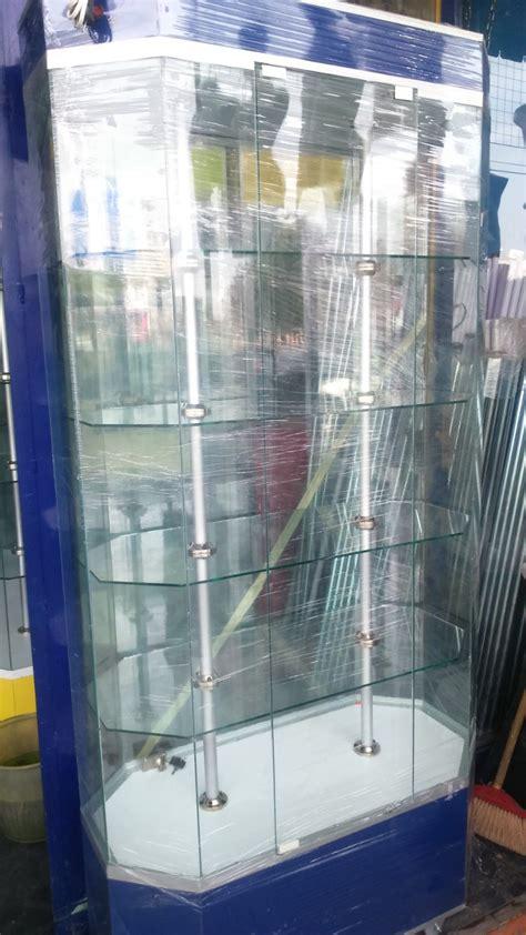 Aparador Exhibidor Vitrinas Mostradores De Cristal ...