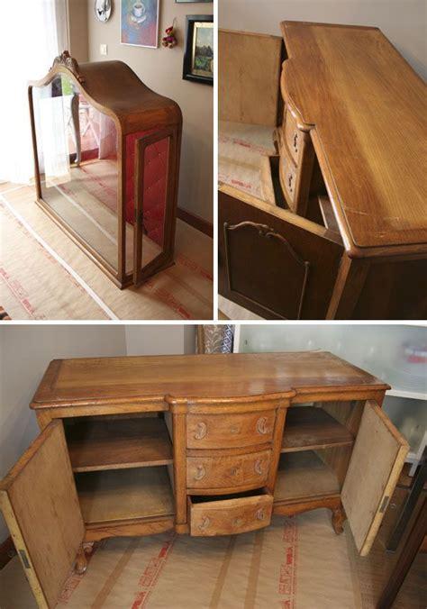 Aparadores antiguos con vitrina · Old display cabinets ...