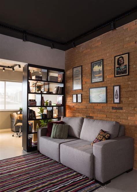 Apartamento de 45 m² reflete o estilo urbano do jovem ...