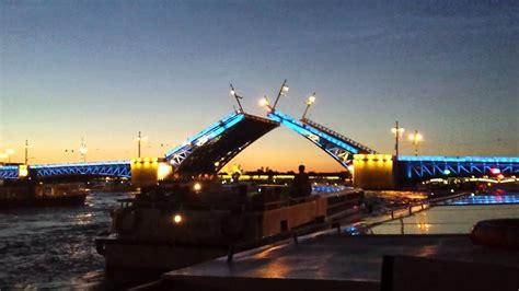Apertura de puentes en San Petersburgo   YouTube