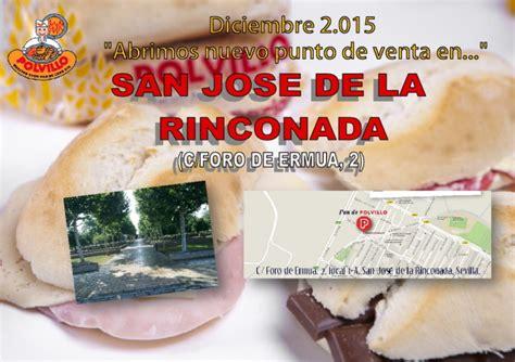 Apertura panadería San José de la Rinconada, Calle Foro de ...