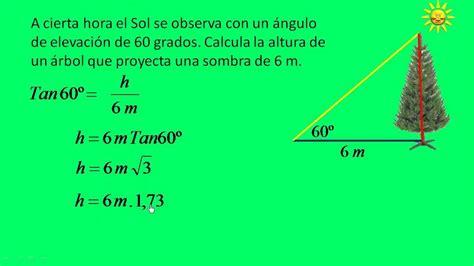 Aplicaciones de las razones trigonométricas. Parte 5   YouTube