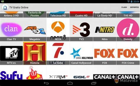 Aplicaciones para ver de forma gratuita la TV en ...
