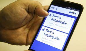 Aplicativo Caixa Econômica Federal  FGTS. – Portal Brasil ...