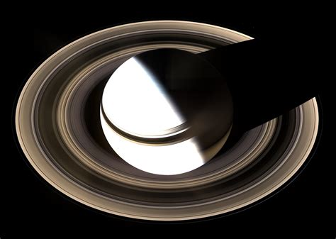 APOD: 2007 March 6   Saturn from Above