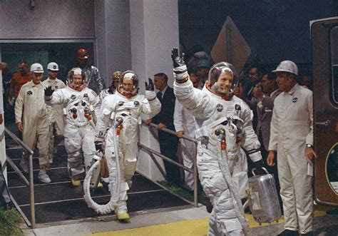 Apollo 11 astronauts had to go through customs after ...