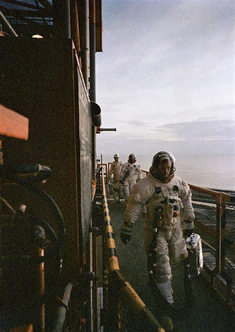 Apollo 11 Astronauts, Prelaunch Photograph by Science Source