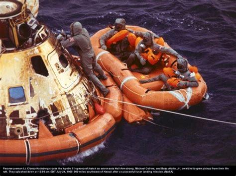 Apollo 11 astronauts, still in