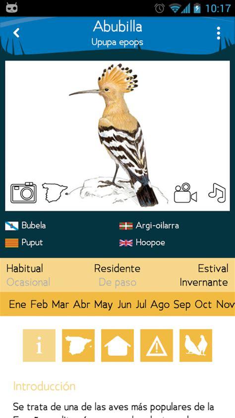 App: Aves de España