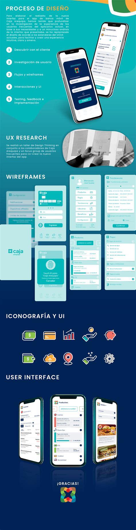 App Banca Móvil Caja Arequipa on Behance