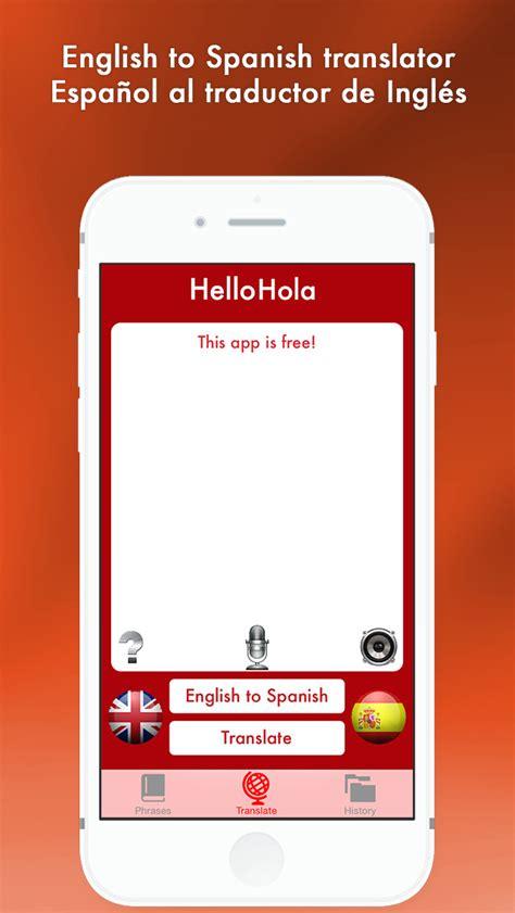 App Shopper: Hello Hola   English to Spanish translator ...