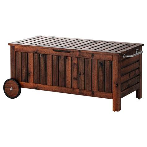 ÄPPLARÖ Storage bench   IKEA | Dreamy Outdoor Spaces ...