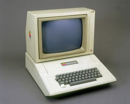 Apple II micro computer, 1977. at Science and Society ...