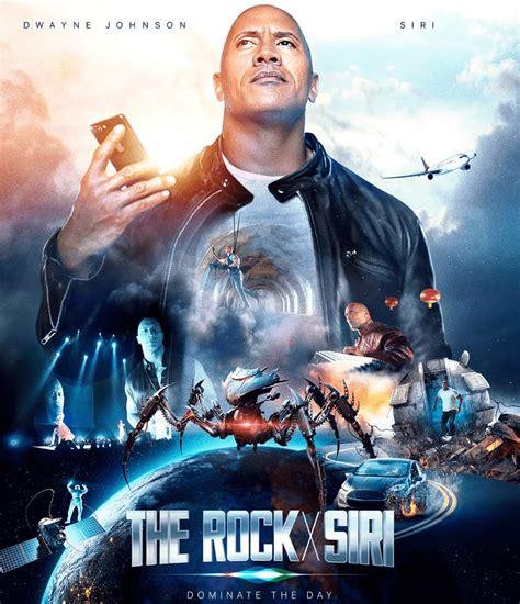 Apple makes a Siri  movie  with Dwayne  The Rock  Johnson